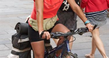 Santiago en bicicleta